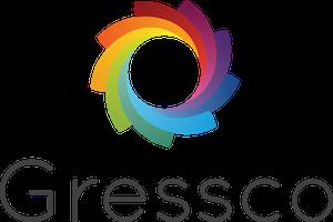 MAR-LINE® Three-Sided Austin Rotating Display by Gressco, 3315*