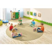 Dura Carpet by HABA, 78 3/4 Diameter Brown Camel, 099942