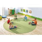 Dura Carpet by HABA, 78 3/4 Diameter Kiwi Green, 099940