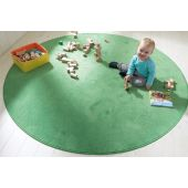 "Soft Meadow Green Carpet by HABA, 78 3/4"" x 118 1/4"", 052089"