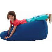 Large Blue Lounge Bean Bag by HABA, 090855