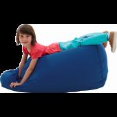 Large Blue Lounge Bean Bag by HABA, 090855