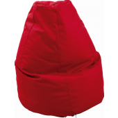 Large Red Lounge Bean Bag by HABA, 090858