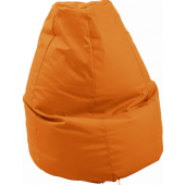 Large Orange Lounge Bean Bag by HABA, 090841