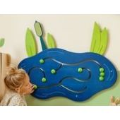 Frog Pond Wooden Play Wall Decoration by HABA, 120158