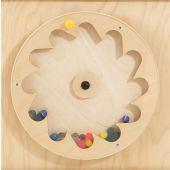 Gear Wheel w/ Rubber Balls Sensory Wall Activity Panel by HABA