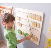 Numbers/Arithmetic Wall Panel by HABA