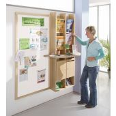 Wall-Mounted Info Element by HABA