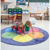 Color Wheel Carpet by HABA