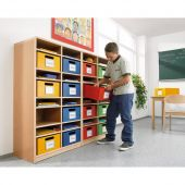 Forminant Property Cabinet with 14 shelves by HABA