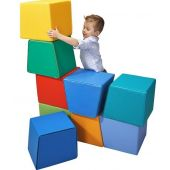 Stackable Cuboid Soft Blocks Set by HABA