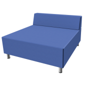Relax Large Square Sofa with Seat Back by HABA