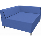 Relax Square Sofa with Seat Backs by HABA