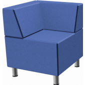 Relax Small Square Sofa with Seat Backs by HABA