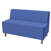 Relax Small Rectangular Sofa with Seat Back