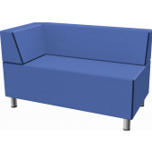 Relax Small Rectangular Sofa with Left Corner Seat by HABA