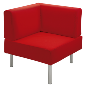 """Rebello"" Angular Corner Sofa by HABA"