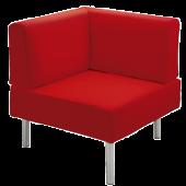 """Rebello"" Angular Corner Sofa by HABA"