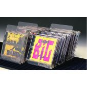 Clear Acrylic Index Card CD & DVD Dividers by Gressco