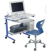 "Height-Adjustable ""Studio"" PC Workstation by HABA"