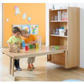 Learning Wall Mounted Folding Table by HABA