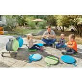 Outdoor Seat Cushion Trolley Set by HABA, 206511
