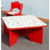 Children's Furniture Company® Square Friends Design Toddler Table