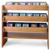 MAR-LINE® Solid Oak Cleveland CD Display by Gressco
