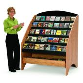 MAR-LINE® Waterfall CD & DVD Library Display System by Gressco