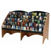 MAR-LINE® Waterfall Starter CD & DVD Media Library Display Systems by Gressco