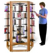MAR-LINE® Rotor Pentagon by Gressco - 6 Tier Tower Display System