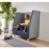 Small Trapezzio Sofa w/ 2 Armrests by HABA