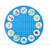 Everyday Life Round Carpet by HABA, 377828