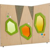Grow.upp Colored Acrylic Windows Partition by HABA, 384651