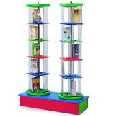 MAR-LINE® Junior Double-Tower Rotor with Low Rainbow Base Display by Gressco