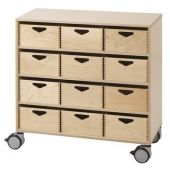 Move Upp Cabinet w/ 12 Supply Bins by HABA
