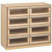 Move Upp Cabinet w/ 8 Acrylic Drawers by HABA
