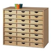 Move Upp Cabinet w/ 24 Box Drawers by HABA
