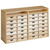 Move Upp Cabinet w/ 28 Box Drawers by HABA
