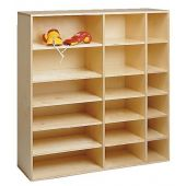 Move Upp Cabinet w/ 15 Shelves by HABA