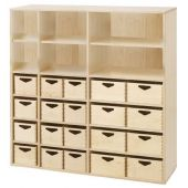 Move Upp Cabinet w/ 20 Supply Bins by HABA