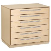 Move Upp Base Document Cabinet w/ 6 Drawers by HABA