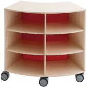 Move Upp Curved Cabinet w/ Acrylic Inside Radius by HABA, 439860*