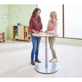 Height-Adjustable Pedestal Tables by HABA