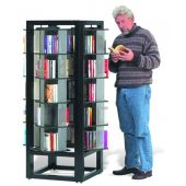 MAR-LINE® Titan Square Book & Media Display by Gressco
