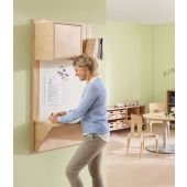 Wall-Mounted Workstation by HABA