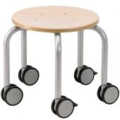 Mobile Stool with Locking Casters by HABA