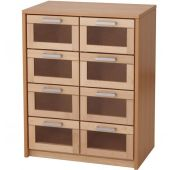 Forminant Materials Cabinet with Natural Drawers by HABA