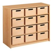 Forminant Cupboard with 12 Material Boxes by HABA 508412*