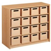 Forminant Cupboard with 16 Material Boxes by HABA  523400